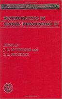 Mathematics in Signal Processing Four
