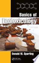Basics of Ecotoxicology