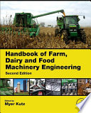 Handbook Of Farm Dairy And Food Machinery Engineering Book PDF