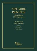 New York Practice 2016