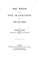 Pdf The Widow, and the Marquess; or, Love and Pride