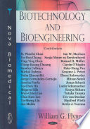 Biotechnology and Bioengineering Book