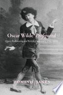 Oscar Wilde Prefigured