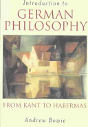 Introduction to German Philosophy Book