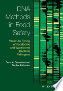 DNA Methods in Food Safety Book