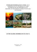 Fontes de Informação Na Web: Uso E Apropriação Da Informação Como Possibilidade de Disseminação E Memória Do Movimento Negro No Estado Da Paraíba ebook