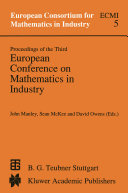Proceedings of the Third European Conference on Mathematics in Industry