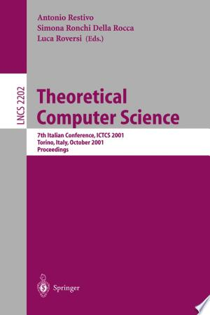 Free Download Theoretical Computer Science PDF - Writers Club