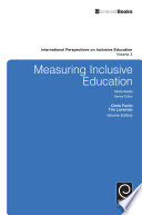 """Measuring Inclusive Education"" by Chris Forlin, Tim Loreman"