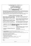 Scandinavian Journal of Gastroenterology
