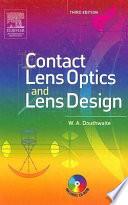 Contact Lens Optics And Lens Design Book PDF