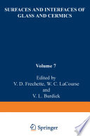 Surfaces and Interfaces of Glass and Ceramics Book