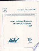 Laser Induced Damaged in Optical Materials:1987