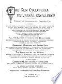 The Gem Cyclopedia of Universal Knowledge
