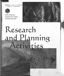 Research and Planning Activities
