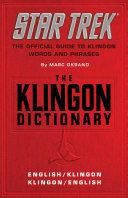 Pdf The Klingon Dictionary
