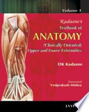 Kadasne's Textbook of Anatomy (Clinically Oriented Upper and Lower Extremities)