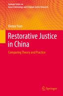 Restorative Justice in China