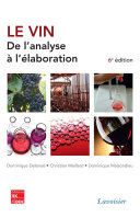 Le vin : de l'analyse à l'élaboration (6e éd.) Pdf/ePub eBook