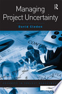 Managing Project Uncertainty Book