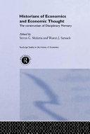 Historians of Economics and Economic Thought