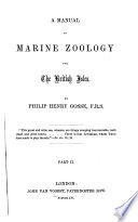 A Manual of Marine Zoology for the British Isles