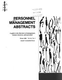 Personnel Management Abstracts