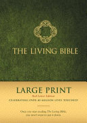 The Living Bible Large Print Red Letter Edition Book