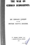 The War on German Submarines