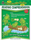 Word Family Stories for Reading Comprehension