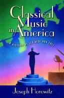 Classical Music in America Pdf/ePub eBook