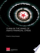 China in the Wake of Asia s Financial Crisis