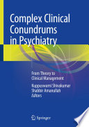Complex Clinical Conundrums in Psychiatry Book