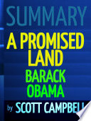 Summary: A Promised Land: Barack Obama