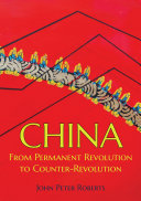 China  From Permanent Revolution to Counter Revolution