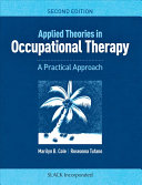 Applied Theories In Occupational Therapy Book PDF