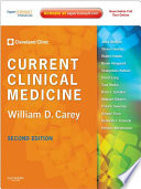 Current Clinical Medicine E Book Book