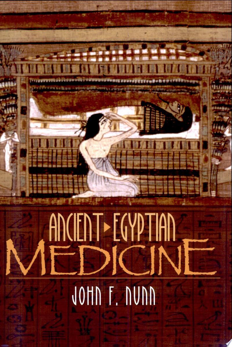 Ancient Egyptian Medicine banner backdrop