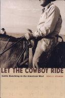 Let the Cowboy Ride