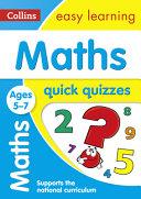 Maths Quick Quizzes Ages 5-7