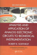 Analysis and Application of Analog Electronic Circuits to Biomedical Instrumentation  Second Edition