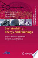 Sustainability in Energy and Buildings Book