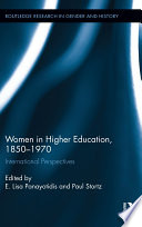 Women in Higher Education  1850 1970