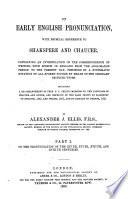 On Early English Pronunciation Pdf/ePub eBook