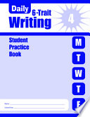 Daily 6-Trait Writing Grade 4 Student Book