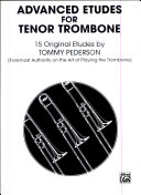 Etudes for Tenor Trombone by Alfred Music