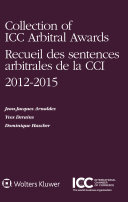 Pdf Collection of ICC Arbitral Awards 2012 – 2015 Telecharger