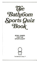 Bathroom Sports Quiz Book