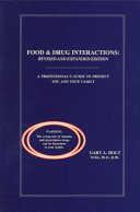 Food and Drug Interactions Book