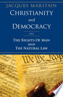 Christianity and Democracy